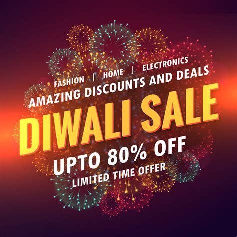 diwali sale offer banner design   vector art