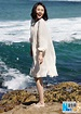 Actress Yuan Quan poses on beach[1]- Chinadaily.com.cn