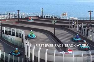 Piste De Karting : video une piste de karting sur un paquebot de luxe photo 1 l 39 argus ~ Medecine-chirurgie-esthetiques.com Avis de Voitures