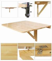 wall mounted drop leaf table Wall-mounted Drop-leaf Table, Folding Dining Desk, Solid ...
