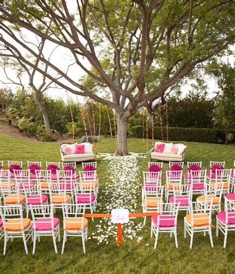 Summer Backyard Wedding by Backyard Wedding Ideas For Summer Outdoor Furniture