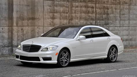 White Mercedes-benz S65 Amg Wallpapers And Images