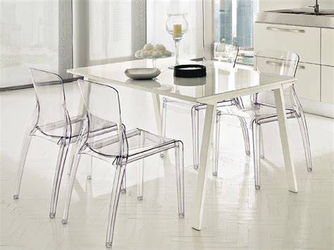 chaise polycarbonate transparente domitalia stackable chair made of polycarbonate