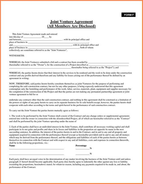 partnership agreement template south africa purchase