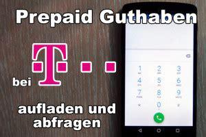 telekom prepaid guthaben aufladen und abfragen