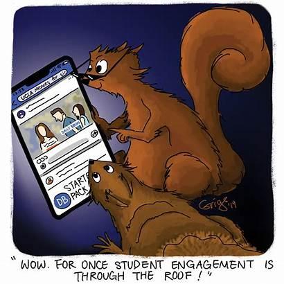 Squirrel Cartoon Meme Memes Trash Steve