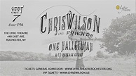 Chris Wilson CD Release Event - The Lyric Theater - YouTube