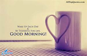 Good Morning Thursday Inspiring Quotes QuotesGram