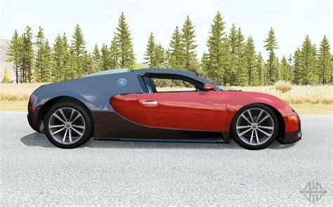 Hypercar bugatti veyron for the beamng drive. Bugatti Veyron 16.4 2006 pour BeamNG Drive