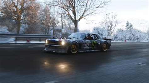forza horizon  ford mustang hoonicorn  hd games