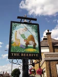beehive pub sign  eltham  david anstiss cc  sa
