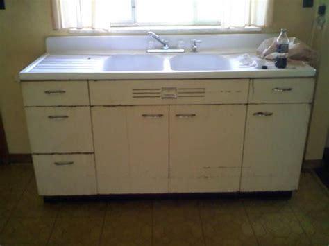 vintage kitchen sink cabinet hotpoint kitchen sink cabinets antique appraisal 6830
