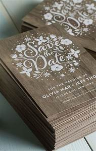 stunning wedding invites produced on real wood with white With wedding invitations made of wood