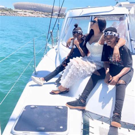 pics ayanda ncwanes family seaside summer holiday