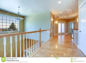 Deck Construction Ideas by Upstairs Hallway With Railings Stock Photo Image 48218471