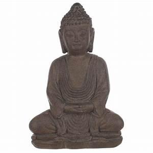 Grande Statue Bouddha Pas Cher : statue bouddha pierre ~ Teatrodelosmanantiales.com Idées de Décoration
