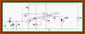 Cell Phone Detector Circuit