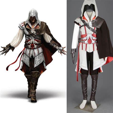 Assassinu0026#39;s Creed II 2 Ezio Auditore Da Firenze Cosplay Costume Outfit