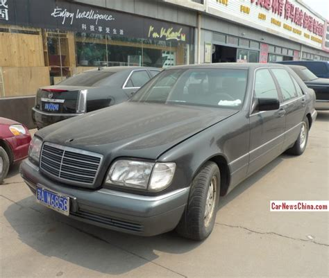 Spotted In China W140 Mercedesbenz S600 Is Black On The