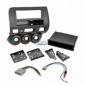 Car Stereo Single Double Din Dash Kit Harness Antenna For