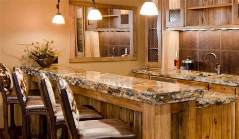Bar Countertop Options   Unique Stone Concepts