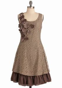 brown bridesmaid dresses bitsy bride With brown lace dress wedding