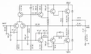 D1047 Audio Amplifier Circuit Diagram 100 Watt