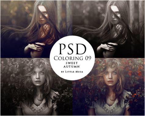 psd coloring  sweet autumn  littlemusa  deviantart