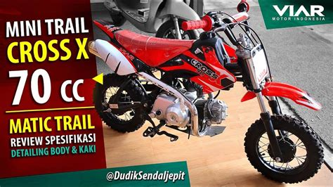 Gambar Motor Viar Cross X 70 Mini Trail by Viar Cross X 70 Cc Mini Trail Motor Mini Untuk Anak