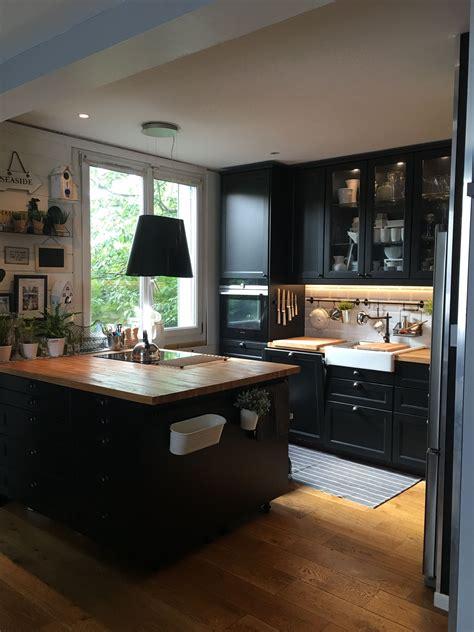 ancien modele cuisine ikea j 39 adore cette cuisine ikéa avec ce plan de travail