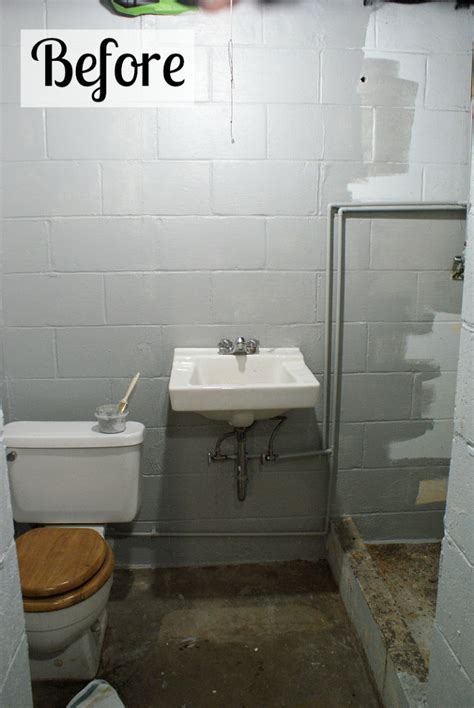 small basement bathroom ideas hometalk basement bathroom spruce up