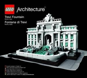 Architecture - Trevi Fountain [Lego 21020]