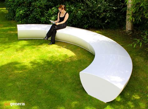 Serpentine Modular Seating - Contemporary GRP Fibreglass ...