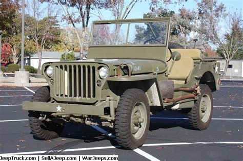 1942 Ford Script GPW Jeep | Military Jeeps For Sale ...