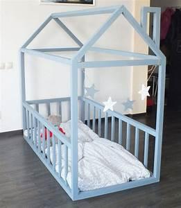 Lit Bebe Cabane : fabriquer un lit cabane pour les petits loulous d monstration en photos deco pinterest ~ Teatrodelosmanantiales.com Idées de Décoration
