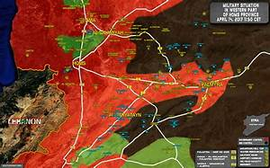 Military Situation In Area Of Palmyra On April 14, 2017 ...
