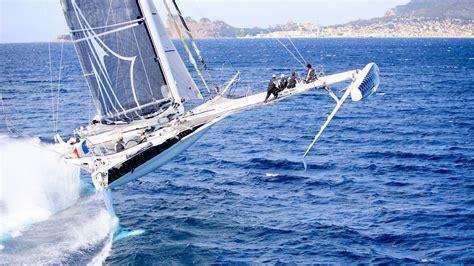 Catamaran For Sailing Around The World by The World S Fastest Sailing Multihulls Sail Magazine