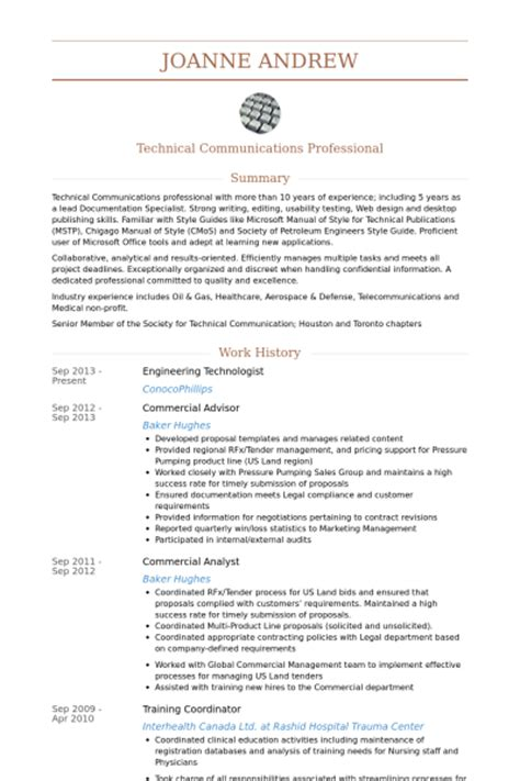 Engineer Tech Resume by Sle Resume For Engineering Technician