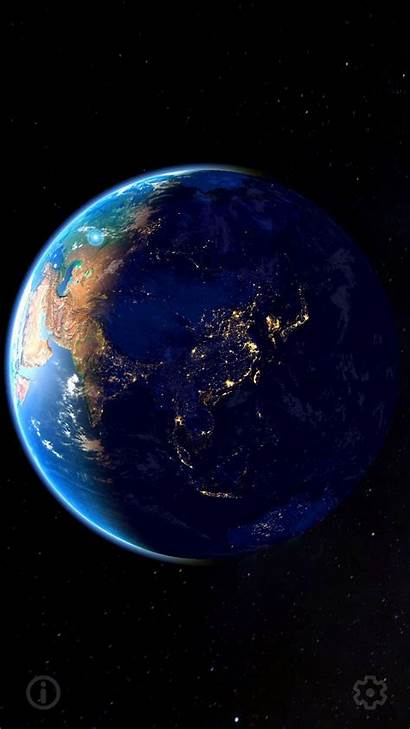Earth 3d Moon Android Background App Internet