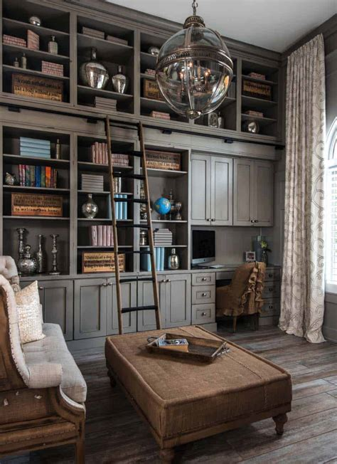 office decorating ideas 28 dreamy home offices with libraries for creative inspiration