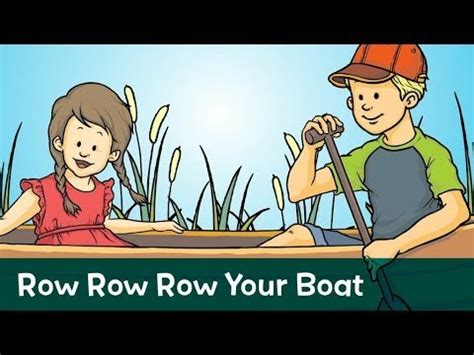 Row Row Row Your Boat Lyrics Don T Forget To Scream by Sing Along Row Your Boat With Lyrics From Speakaboos