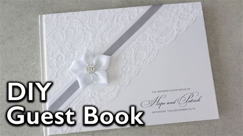 how to make an elegant lace and satin ribbon flower guest