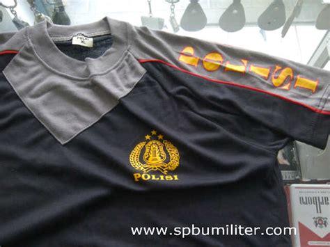 Kaos Polisi Hitam kaos polisi hitam spbu militer