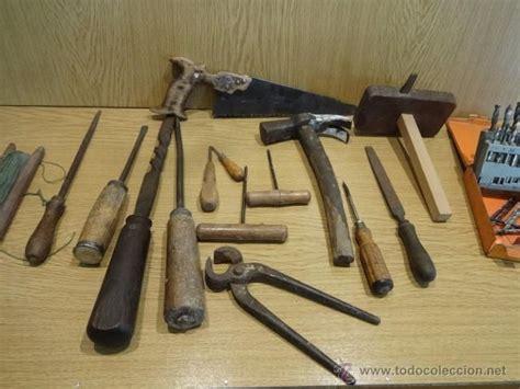 lote antiguas herramientas de carpintero en total