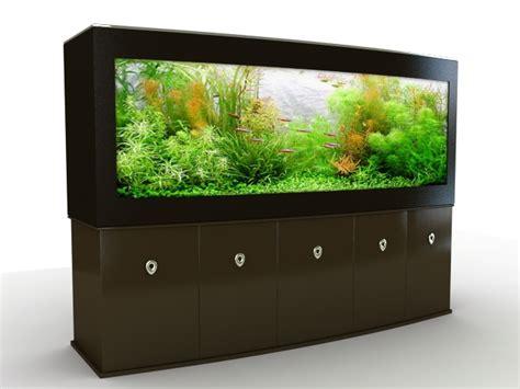 big aquarium  home  model ds max files