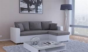 sofa furniture deal du jour groupon With canapé d angle convertible gain de place
