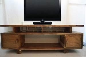 Table Tv But : flat slim tv rack natural mottiv nat leoque collection one look one collection ~ Teatrodelosmanantiales.com Idées de Décoration