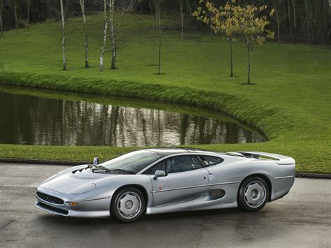 Stunning Silver Jaguar XJ220 Available For Purchase In The ...