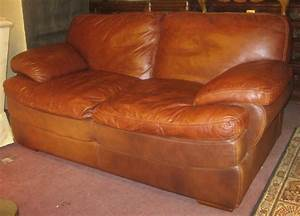 Furniture good looking brown leather sofa design ideas for Red and brown sectional sofa