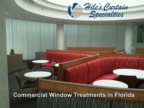 commercial window curtains  tampa bay hiles curtains